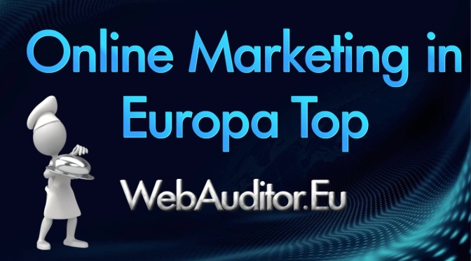 Marketing Top European #WebAuditor.Eu #MarketingTopEuropean #CrossMarketingBest #QualificationOnlineMarketing