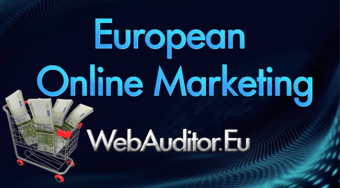in Europe InterActive Marketing Top #inEuropeInterActiveMarketingTop #Webauditor.Eu bitly.com/2nmK0Mw European On-line Marketing #EuropeanOnlineMarketing #搜索营销咨询最好的 #AgencyOnlineMarketing
